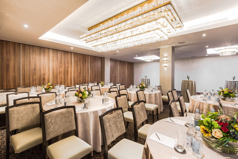 A meeting room of the Montcalm Royal London House Hotel