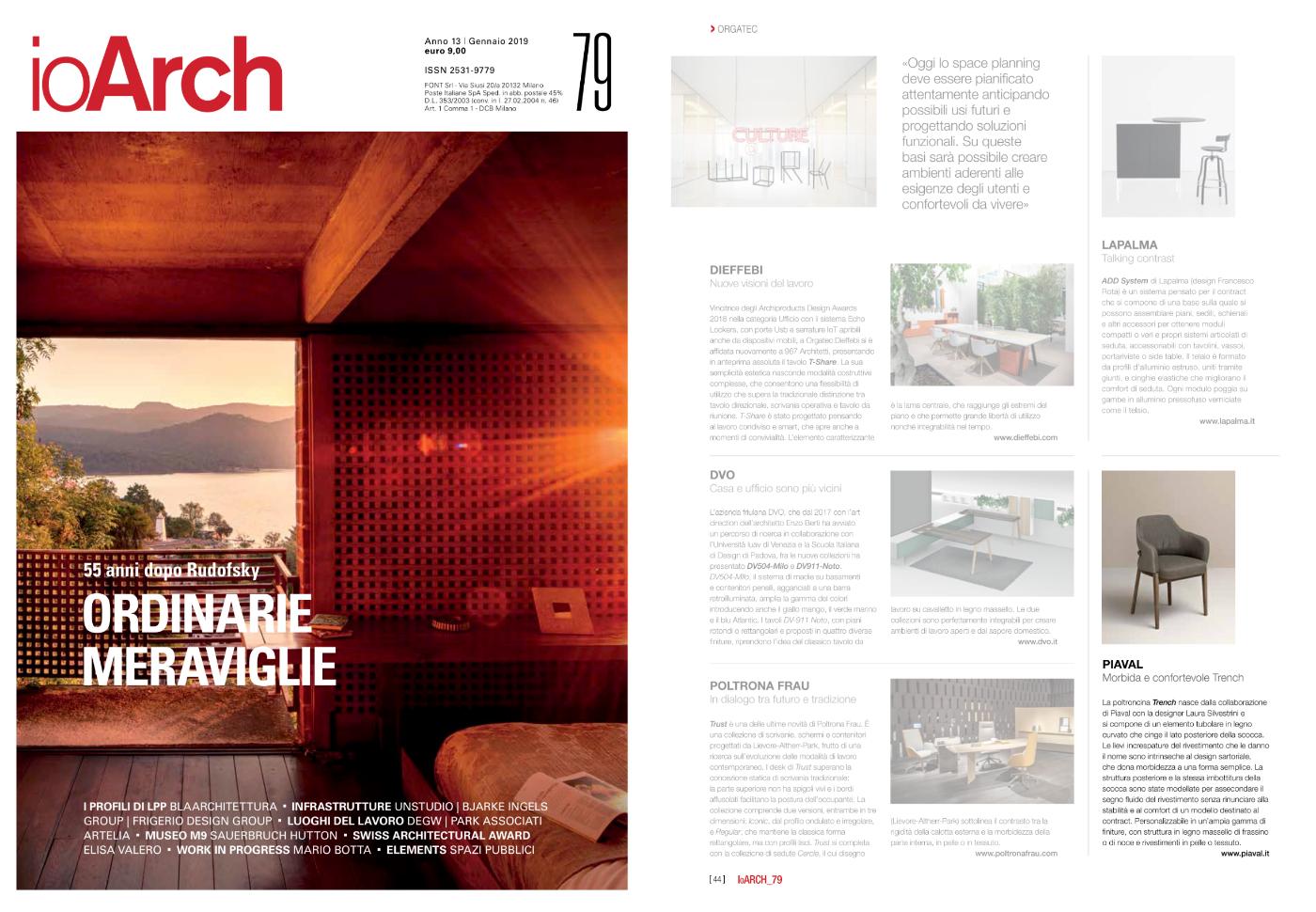 Trench armchair on IoArch magazine