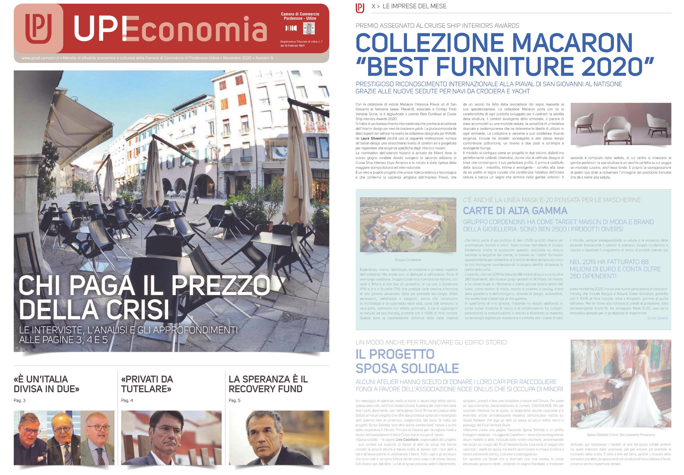 Macaron lounge on Upeconomia magazine